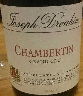 Joseph Drouhin Chambertin Grand Cru