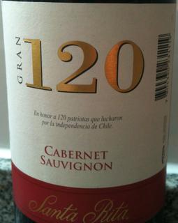 Santa Rita Gran 120 Cabernet Sauvignon