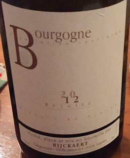 Jean Rijckaert Bourgogne Chardonnay