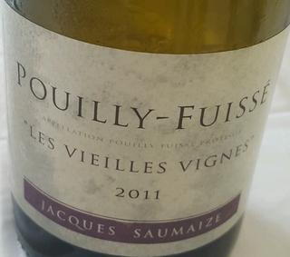 Jacques & Nathalie Saumaize Pouilly Fuissé Les Vieilles Vignes