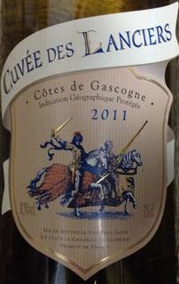 Cuvée des Lanciers Côtes de Gascogne