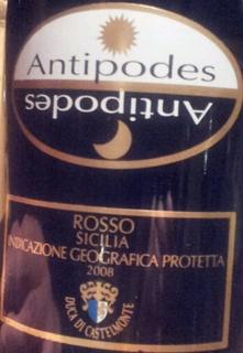 Duca di Castelmonte Antipodes Rosso