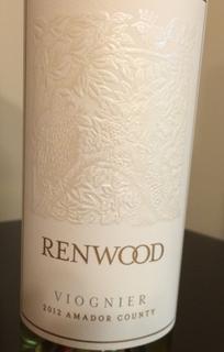 Renwood Viognier Amador County