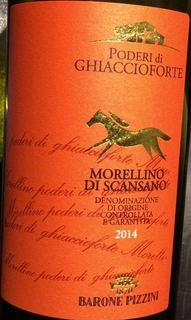 Poderi di Ghiaccioforte Morellino di Scansano(ポデーリ・ディ・ギアッチオフォルテ モレッリーノ・ディ・スカンサーノ)