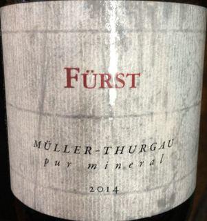 Fürst Müller Thurgau Pur Mineral