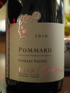 Fanny Sabre Pommard Vieilles Vignes