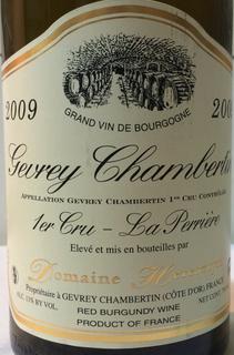 Dom. Heresztyn Gevrey Chambertin 1er Cru La Perrière