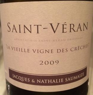 Jacques & Nathalie Saumaize Saint Véran La Vieille Vigne des Crèches