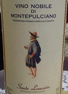 Melini Sante Lancerio Vino Nobile di Montepulciano