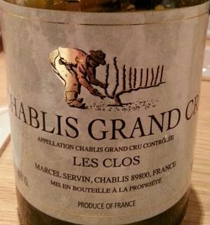 Marcel Servin Chablis Grand Cru Les Clos
