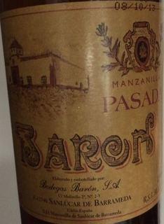 Barón Pasada Manzanilla