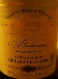 Babich Family Estates Headwaters Grüner Veltliner