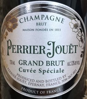Perrier Jouët Grand Brut Cuvée Speciale(ペリエ・ジュエ グランド・ブリュット キュヴェ・スペシアル)