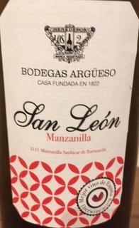 Bodegas Argüeso San León Manzanilla