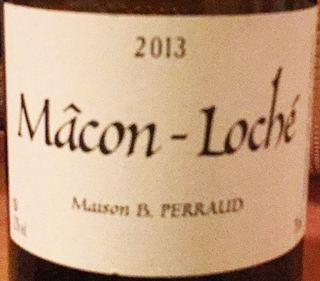 Maison B. Perraud Mâcon Loché(メゾン・ブルーノ・ペロー マコン・ロシェ)