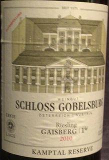 Schloss Gobelsburg Riesling Gaisberg