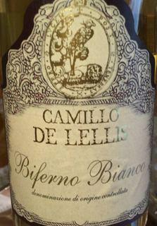 Camillo de Lellis Biferno Bianco(カミッロ・デ・レリス ビフェルノ ビアンコ)