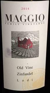 Maggio Family Vineyards Old Vine Zinfandel(マッジオ・ファミリー・ヴィンヤーズ オールド・ヴァイン ジンファンデル)