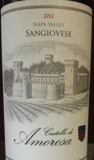 Castello di Amorosa Napa Valley Sangiovese