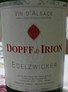 Dopff & Irion Edelzwicker