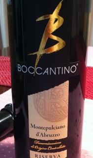 Boccantino Montepulciano d'Abruzzo Riserva
