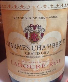 Labouré Roi Charmes Chamnertin Grand Cru