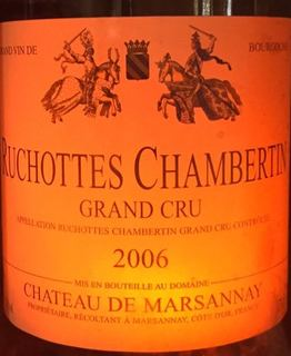 Ch. de Marsannay Ruchottes Chambertin Grand Cru(シャトー・デュ・マルサネ リュショット・シャンベルタン グラン・クリュ)