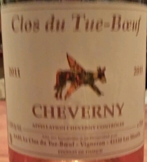 Clos du Tue Boeuf Cheverny Rosé
