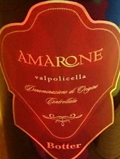 Botter Amarone della Valpolicella
