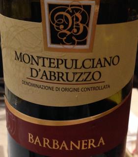 Barbanera Montepulciano d'Abruzzo(バルバネラ モンテプルチャーノ・ダブルッツォ)