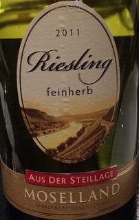 Moselland Riesling Feinherb Aus der Steillage
