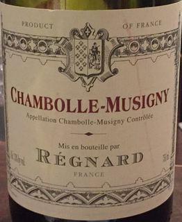 Régnard Chambolle Musigny(レニャー シャンボール・ミュジニー)