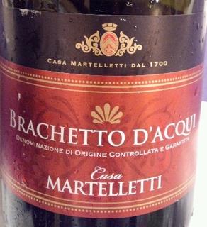 Casa Martelletti Brachetto d'Acqui(カーサ・マルテレッティ ブラケット・ダックイ)