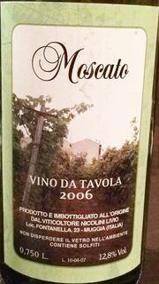 Nicolini Livio Moscato
