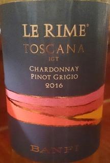 Banfi Le Rime Toscana Pinot Grigio