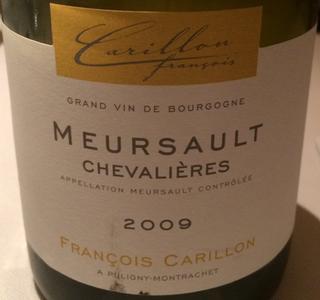 François Carillon Meursault Chevalières