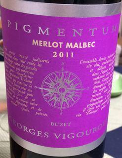 Georges Vigouroux Pigmentum Merlot Malbec