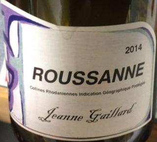 Jeanne Gaillard Roussanne(ジャンヌ・ガイヤール ルーサンヌ)
