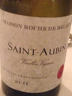 Maison Roche de Bellene Saint Aubin Vieilles Vignes