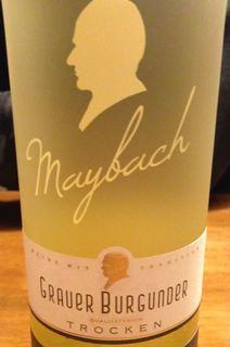 Maybach Grauer Burgunder