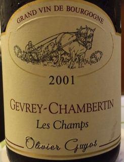 Olivier Guyot Gevrey Chambertin En Champs