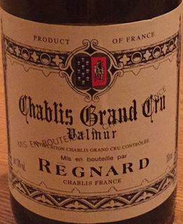 Régnard Chablis Grand Cru Valmur