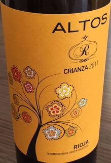 Altos R Crianza(アルトス アール クリアンサ)