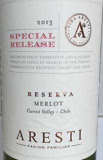 Aresti Special Release Merlot Reserva