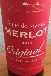 Anne de Joyeuse Merlot Original