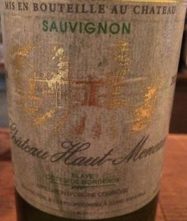 Ch. Haut Meneau Sauvignon