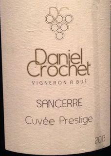 Daniel Crochet Sancerre Cuvée Prestige