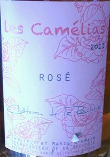 Ch. de la Roulerie Rosé de Loire Les Camelias