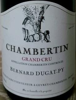 Bernard Dugat Py Chambertin Grand Cru