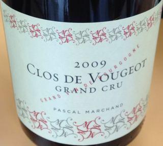 Pascal Marchand Clos de Vougeot Grand Cru